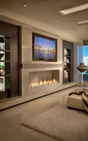 video new fireplace trends contemporary wall tv and blank walls