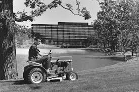 reminiscing on the past with john deere riding mower history 1960s
