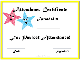 attendance certificate templates u2013 23 free word pdf documents