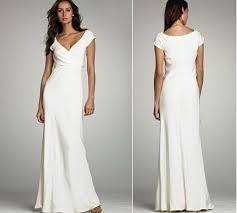 relaxed wedding dress wedding dress ideas for casual outdoor wedding