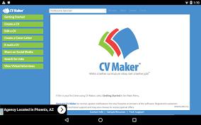 cv maker resume cv maker free android apps on google play cv maker free screenshot