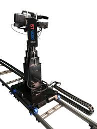 professional telescopic crane robot camera crane dolly with lift