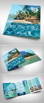 lavish electric store a4 bi fold brochure template dmc tour tourism travel company on behance type and logo