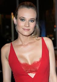 vanity fair beautiful benefits bra diane kruger goes supersexy in red bra revealing dress for vanity