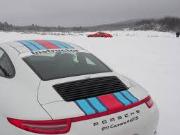 porsche winter porsche camp4 canada offers winter driving excitement openroad
