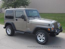 used jeep wrangler used jeep wrangler at signature autos inc serving naperville il