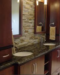 stacked stone veneer backsplash awesome fireplace interior on