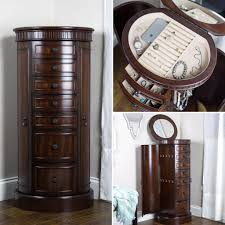 Antique Jewelry Armoires Bailey Jewelry Armoire Antique Walnut Hives And Honey