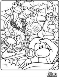 coloring pages of club penguin about 10 free club penguin coloring page printables freebies