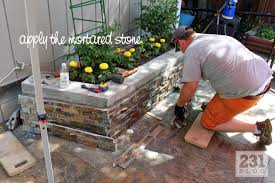 231 designs diy slate ledge stone planter boxes