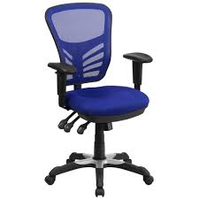 blue desk chairs classic office chairs home office furniture the home depot