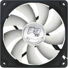 high cfm case fan arctic f9 tc 92mm temp controlled case fan