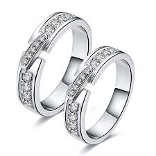 Price Of Wedding Rings by Wedding Rings Sterling Silver Wedding Sets The Low And The High