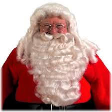 santa beard high quality santa claus wig and beard set