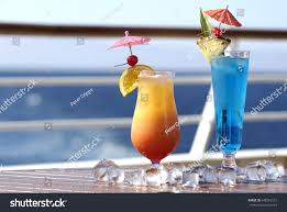 holiday cocktails png colorful holiday cocktails on cruise ship stock photo 448261231