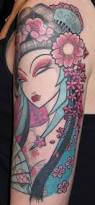 glamorous geisha tattoos by venus flytrap tattoo artists ratta