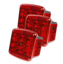 grote led trailer lights 65870 5 led trailer lighting kit with clearance marker lights