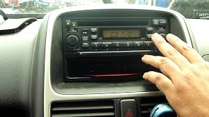 2006 honda crv 2 2 i ctdi cd radio player youtube