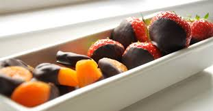 fruit dipped in chocolate chocolate dipped fruit appetite 4 food for thought