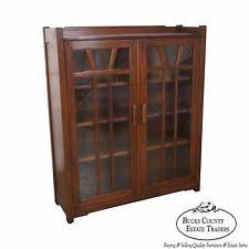 Danner Revolving Bookcase Arts U0026 Crafts Mission Style Bookcases Antique Furniture Ebay