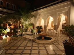 decoration arabe maison riad authentique exclusif dans la medina médina location de