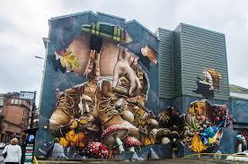 Mural Artist by Street Art In Glasgow Part 2 Annie Bananie En Europe
