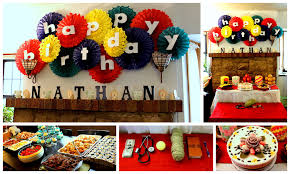 Party Decorating Ideas by Decorating Ideas For Birthday Parties With Wonderful Birthday