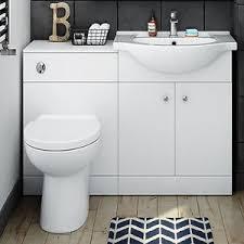 Cloakroom Basin And Vanity Unit 1150mm Toilet And Sink Vanity Unit Bathroom Basin Furniture Matte