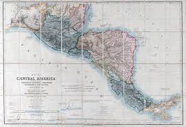 america map guatemala large scale map of central america including the states of