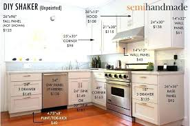 how much do custom cabinets cost amazing fashionable semi custom cabinet how much does kitchen