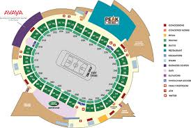 pepsi center floor plan pc club level map png