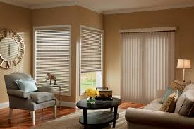 window treatment living room black accents beige wall white coffee