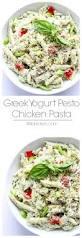 greek yogurt pesto chicken pasta little broken
