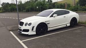 bentley replica sebring xclusive bentley continental gt white bodykit youtube