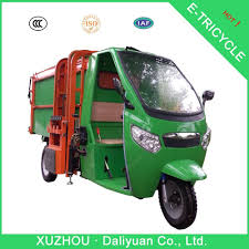 electric truck for sale electric tricycle small garbage truck for sale garbage waste bin