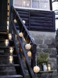 Handrail Christmas Decorations Outdoor Christmas Decoration Ideas 20 Simple Yet Festive