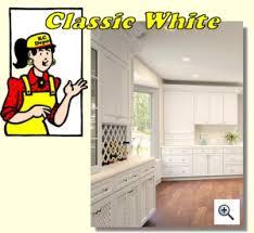 Kitchen Cabinet Depot Classic White Kitchen Cabinet Depot