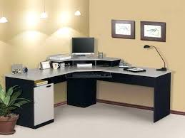 Glass Computer Desk With Drawers Office Desk Black Corner Office Desk Image Of Chrome Glass