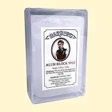 alum block alum block 3 52 oz 100g barbero