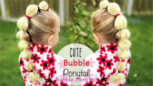 kid easy ponytail hairstyle cute hairstyles for girls 1