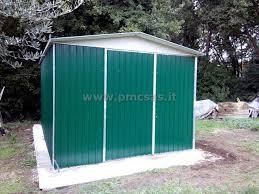 box auto in lamiera zincata prezzi box in lamiera roma pmc prefabbricati e arredo giardino