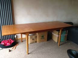 12 Seater Dining Table 1960s Double Extending Teak Dining Table By Mcintosh 8 10 12