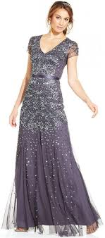 papell dress papell cap sleeve embellished gown 2172705 weddbook