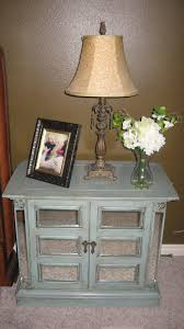 nightstand simple mirrored nightstand cheap with table lamp and
