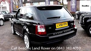 land rover 2007 black beadles santorini black 2008 land rover range rover sport hse 3 6l