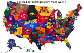 Imperialism Africa Map by College Football Imperialism Maps Vivid Maps