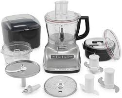 Kitechaid 14 Cup Kitchenaid Food Processor Contour Silver Kfp1466cu