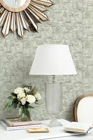 wallpaper ideas and inspiration how to decorate birch patterned wallpaper in ballard designs home office