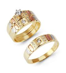cheap his and hers wedding bands his and hers wedding ring sets yellow gold his and hers gold