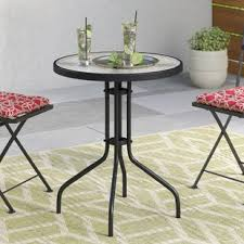 Outdoor Bistro Table Outdoor Bistro Tables You Ll Wayfair